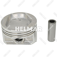 91H2000820<br>PISTON & PIN (1.00MM)