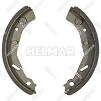 1334620<br>BRAKE SHOE SET (2 SHOES)