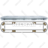 15-00035-E<br>LIGHTBAR (LED/AMBER)