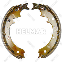 1591665<br>BRAKE SHOE SET (2 SHOES)