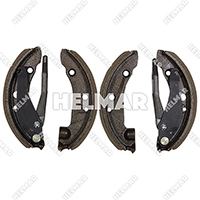 246250<br> BRAKE SHOE SET 4 SHOES