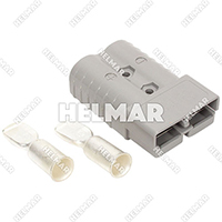 6320G2<br>CONNECTOR W/CONTACTS (SB350 4/0 GRAY)
