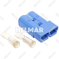6321G2<br>CONNECTOR W/CONTACTS (SB350 4/0 BLUE)