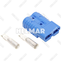 6371G1<br>CONNECTOR W/CONTACTS (SBX175 1/0 BLUE)