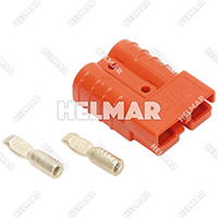 6331G12<br>CONNECTOR (SB50 #10 ORANGE)