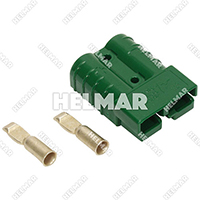 6331G9<br>CONNECTOR W/CONTACTS (SB50 #6 GREEN)