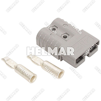 6800G2<br>CONNECTOR W/CONTACTS (SB120 #4 GRAY)