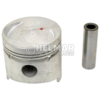MD009593<br>PISTON & PIN SET (1.00MM)