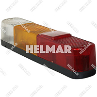 0515318502<br>REAR LAMP (12 VOLT)
