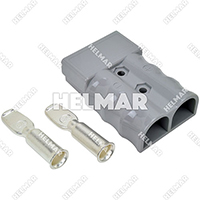 AM6320G1<br>CONNECTOR W/CONTACTS (SB350 2/O GREY)