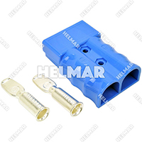 AM6321G1<br>CONNECTOR W/CONTACTS (SB350 2/0 BLUE)
