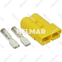 AM6323G1<br>CONNECTOR W/CONTACTS (SB350 2/0 YELLOW)