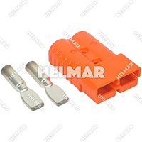 AM6400G1<br>CONNECTOR W/CONTACTS (SB350 2/0 ORANGE)