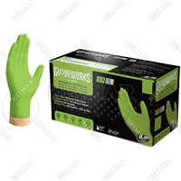 GLV-4470<br>GREEN NITRILE NO POWDER (MEDIUM)