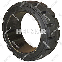 TIRE-140C<br>CUSHION TIRE (16X6X10.5 B/R)