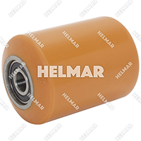 WH-408-A-95D<br>POLYURETHANE WHEEL/BEARINGS