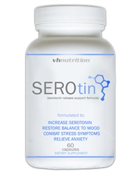 SeroTin Natural Anxiety and Stress Relief Supplement to Boost Serotonin