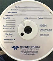 167-2896 - Teledyne Technologies, Inc. - High Voltage Coaxial/Shielded Cable