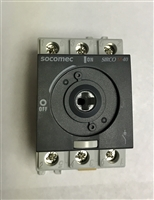 22003004 - SOCOMEC - Disconnect Switch, 3-P, 40A/600V, Non-Fusible, Rotary, UL508 Listed, Switch Only