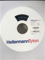 309-65152 - HELLERMANNTYTON - Heat shrinkable tubing 2:1 - flexible and colored TFN21 9.5 /4.8 BL 3/8""