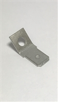 "42822-4 - TE - .250""  Stud Mount Tab 45 degree for #6 stud"