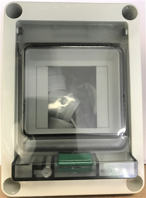 542-402 - ALTECH - 2 pole CB enclosure EK002, 130X94X80MM Enclosure 542-402 - ALTECH - 2 pole CB enclosure EK002, 130X94X80MM Enclosure Polycarbonate Translucent  Door with knockouts