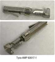 60617-1 - TYCO / AMP - Contact, Commercial MATE-N-LOK Series, Socket, Crimp, 18 AWG, Tin Plated Contacts