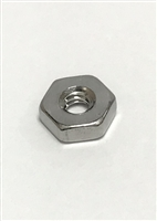 6CHNTS - 6-32 HX NUT SST RoHS