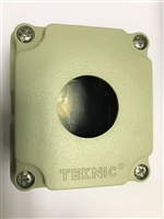 7012A13 - ALTECH/TELNIC - PDC AL Enclosure. 30mm 1PB, NPT; black/pebble gray (RAL 7032)