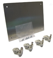 AH108SPK - ATTABOX - 10x8 Aluminum Swing Panel with (4) Swing Panel Mounts