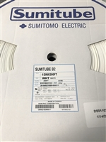 "B2 1/2"" WHITE SPL - Sumitomo Electric Interconnect - 2:1 Heat Shrink Tubing 200' - Polyolefin (M23053/5-108-9 & M23053-5-308-9, Class 1 AND 3)"