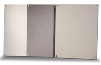 BP1010A - ATTABOX - Standard Aluminum Back Panel 10 x 10 inches used for Heartland, Commander, Freedom, and Centurion series