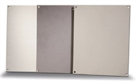 BP1210A - ATTABOX - Standard Aluminum Back Panel 12 x 10 inches used for Heartland, Commander, Freedom, and Centurion series