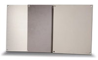 BP1412A - ATTABOX - Standard Aluminum Back Panel 14 x 12 inches used for Heartland, Commander, Freedom, and Centurion series
