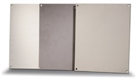 BP1816A - ATTABOX - Standard Aluminum Back Panel 18 x 16 inches used for Heartland, Commander, Freedom, and Centurion series