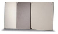 BP2016A - ATTABOX - Standard Aluminum Back Panel 20 x 16 inches used for Heartland, Commander, Freedom, and Centurion series