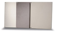 BP2424A - ATTABOX - Standard Aluminum Back Panel 24 x 24 inches used for Heartland, Commander, Freedom, and Centurion series