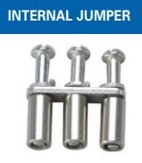 CA722/3 - ALTECH - Internal Jumper, Screw, 6mm spacing, 3 pole,use with DIN Term Blk CTS4U-N, CMC Series, CDL4 Series, CF4SP, CKT4, Std, Pack: 100