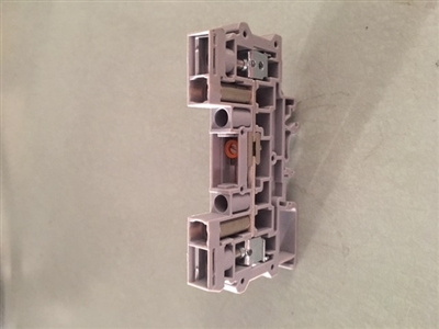Conn; Term Blk; DIN Rail; Disconnect/Test; Screw Clamp; 16-8 AWG; 41 A; 600 V - CDS6U