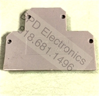 EPCDL4U - Altech - END CAP (GRAY) FOR CDL4U
