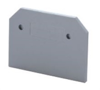 EPCMC2-2 - Altech - End Plate, grey, use with DIN Term Blk CMC2-2 (50PK)
