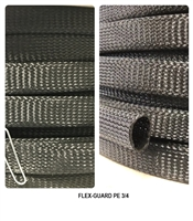 "ALTA 3/4"" General purpose braided PET monofilament sleeving - FLEX-GUARD PE 3/4"
