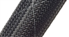 "FRN1.50TB - TECHFLEX - FLEXO Flame Retardent Expandable Braided Sleeving 1 1/2"" (38.1mm)"