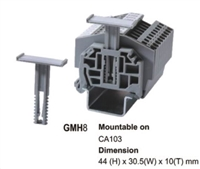GMH8 - ALTECH - Group Marker, DIN Term Blks, 10mm wide, use with CA103