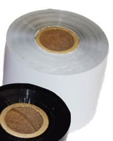 "GR-330-1-9 - GAMMA - White Thermal Transfer Ribbon (1"" core 2.34"" wide by 984')"