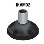 IKAM02 - ALTECH - 20mm Aluminum pole with Base, (used with IFAB01)