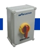 KEM3100L Y/R - ALTECH - Enclosed Disc. Switch, 3 pole, 100A/600V, Yellow/Red Handle