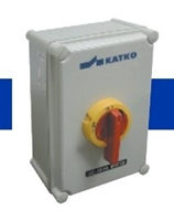 KEM3100L Y/R - ALTECH - Enclosed Disc. Switch, 3 pole,100A/600V, Yellow/Red Handle, Std, Pack: 1