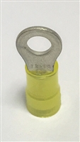 PN10-10R-D  - PANDUIT - Ring Terminal, Yellow Nylon, Grip Sleeved Seam, 12 to 10 AWG