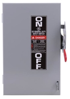 TG4321 - GE -  3 pole 30Amp  Fusible Disconnect  GE Catalog #TG4321